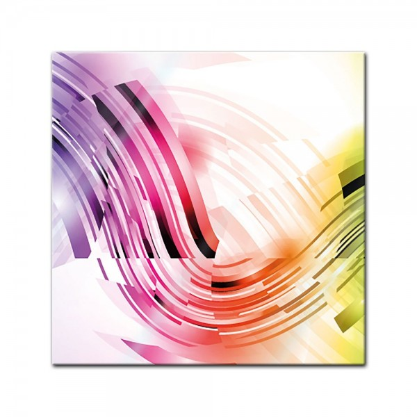 Glasbild - Abstrakte Kunst XXXII