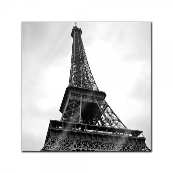 Glasbild - Pariser Eiffelturm III
