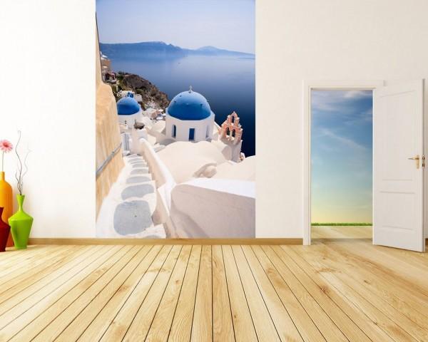 Fototapete Santorini View - Griechenland