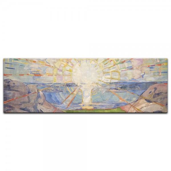 Leinwandbild - Edvard Munch - Die Sonne