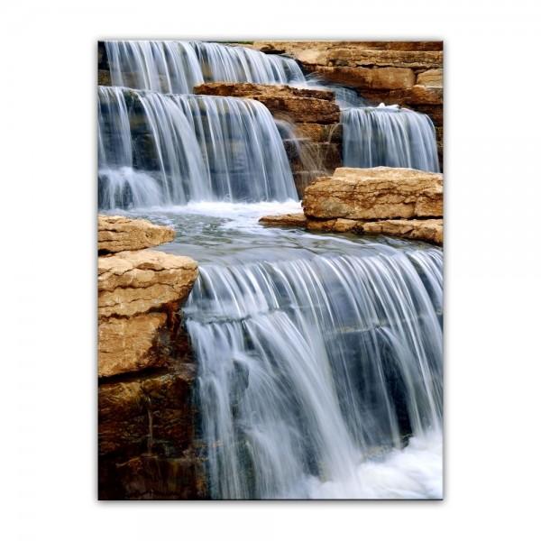 Leinwandbild - Wasserfall I