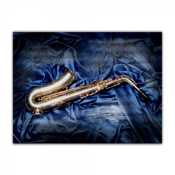 Leinwandbild - Saxophon