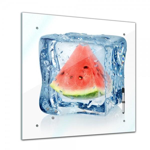 Memoboard - Essen & Trinken - Eiswürfel Melone - 40x40 cm