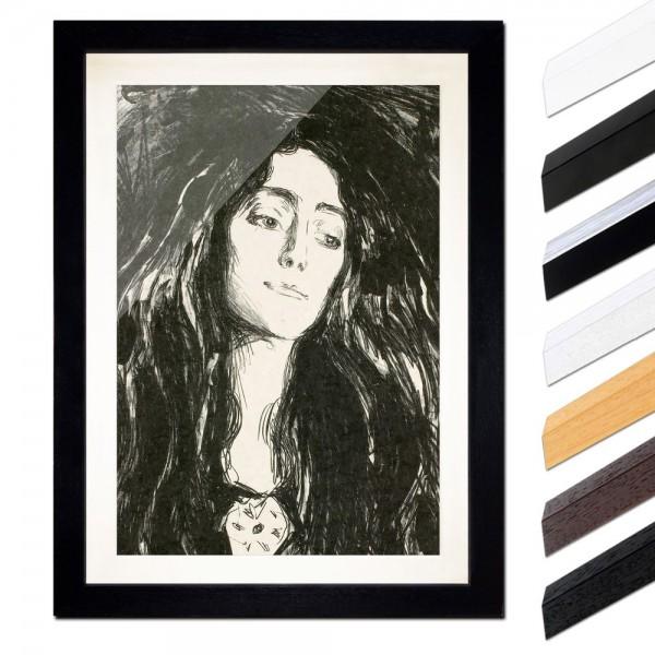 Edvard Munch - The Brooch - Die Brosche - Eva Mudocci