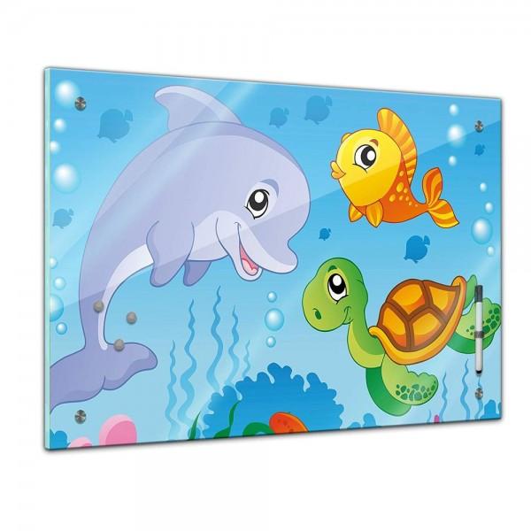 Memoboard - Kinder - Unterwasser Tiere III