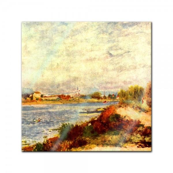 Glasbild Pierre-Auguste Renoir - Alte Meister - Seine bei Argenteuil