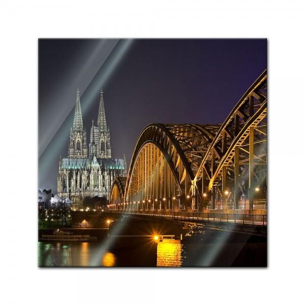 Glasbild - Kölner Dom
