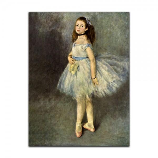 Leinwandbild - Pierre-Auguste Renoir - Die Balletttänzerin