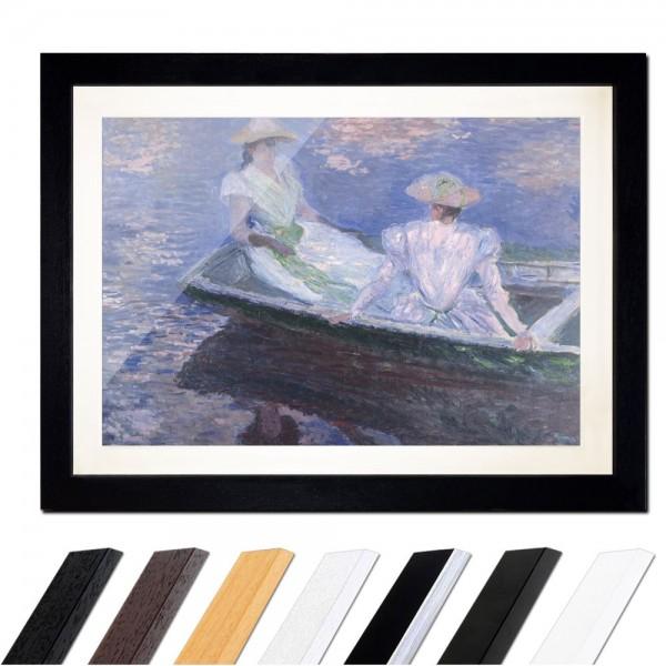 Claude Monet - Junge Mädchen in einem Boot