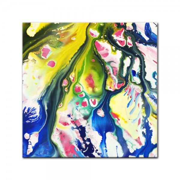 Glasbild - Abstrakte Kunst XXVII