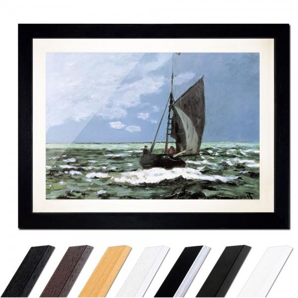 Claude Monet - Stürmische See