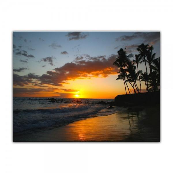 Leinwandbild - Makena Beach - Hawaii USA