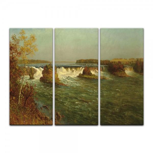 Leinwandbild - Albert Bierstadt - The Falls of Saint Anthony