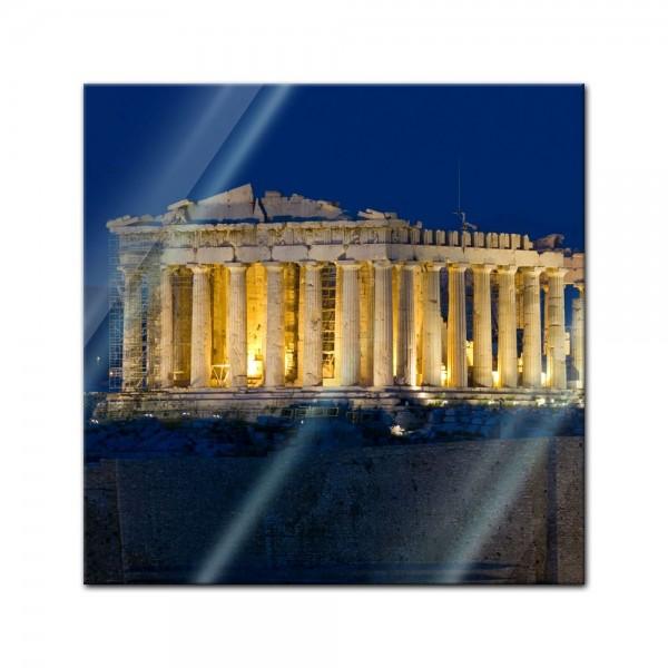 Glasbild - Akropolis