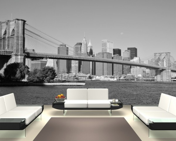 Fototapete Brücke New York