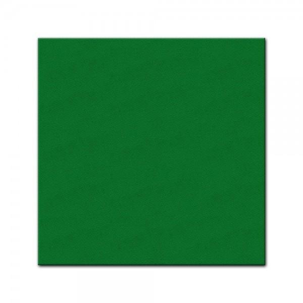 Künstlerleinwand - bemalbare Leinwand in grün - Quadrat