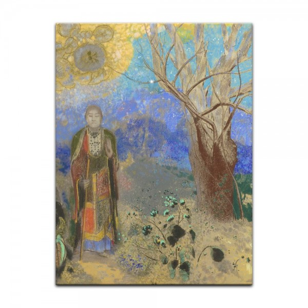 Leinwandbild - Odilon Redon - Buddha