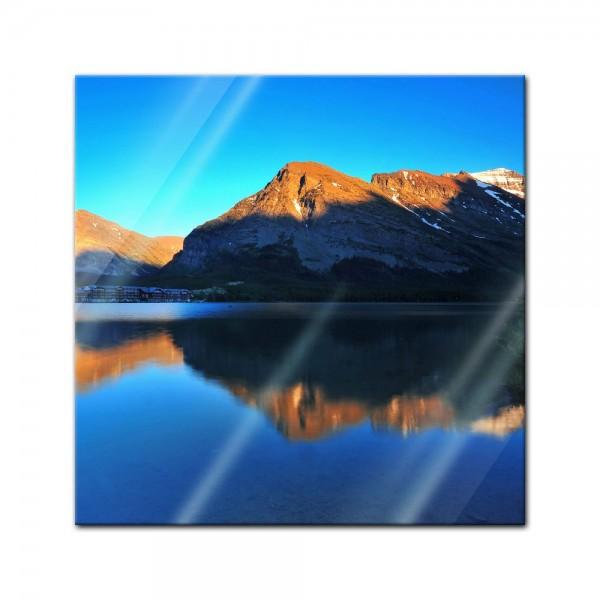 Glasbild - Reflexion