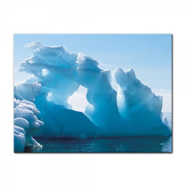 Leinwandbild - Eisformation