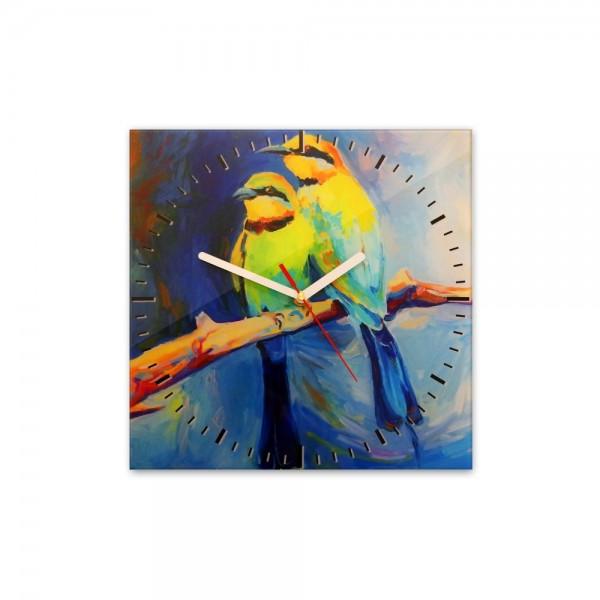 Glasuhr - Vögel - 222