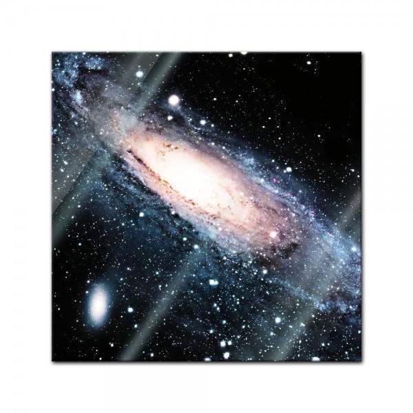 Glasbild - Spiral Galaxie III