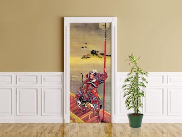 Türaufkleber Katsushika Hokusai - Alte Meister - Samurai