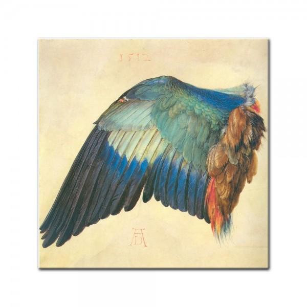 Leinwandbild - Albrecht Dürer - Flügel einer Blaurake