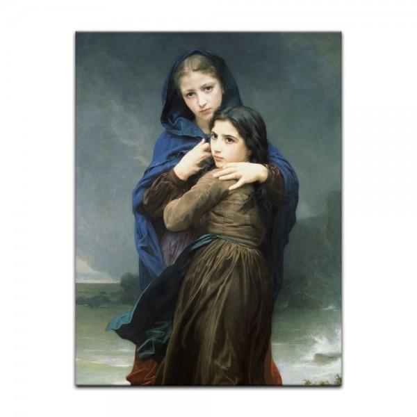 Leinwandbild - William-Adolphe Bouguereau - Der Sturm