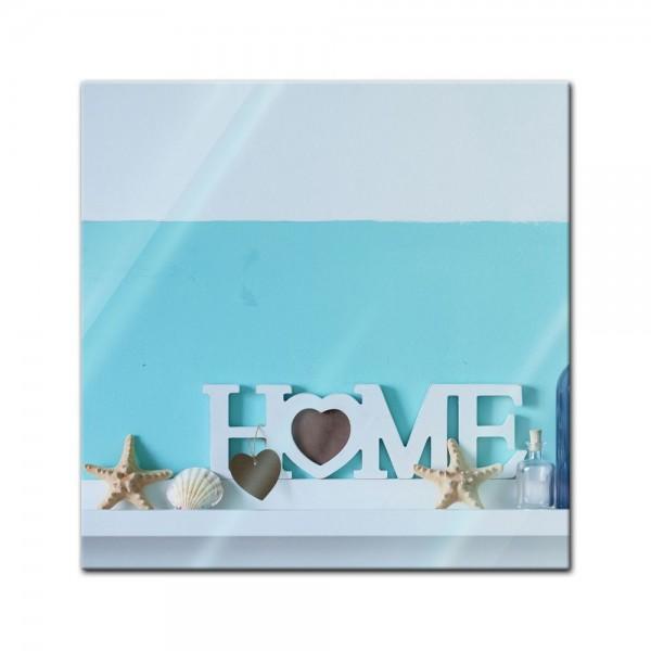 Glasbild - Home Baddekor
