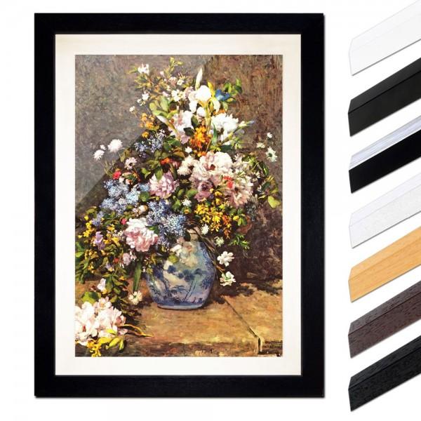 Pierre-Auguste Renoir - Stillleben mit großer Blumenvase
