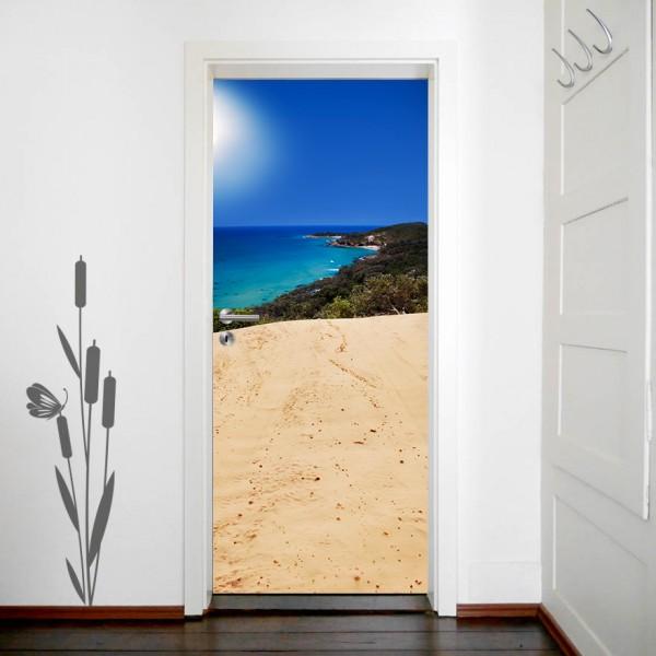 Türaufkleber Oasis Island Paradise - Australien