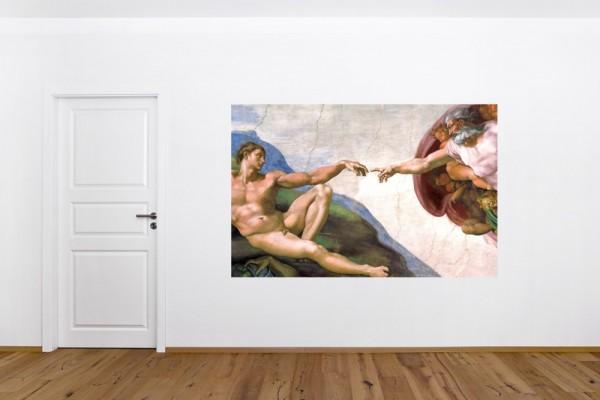 Fototapete Michelangelo - Alte Meister - Die Erschaffung Adams