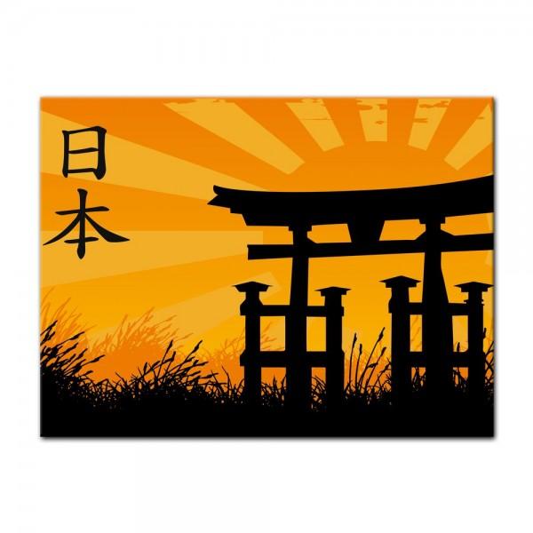 Leinwandbild - Japanese Style