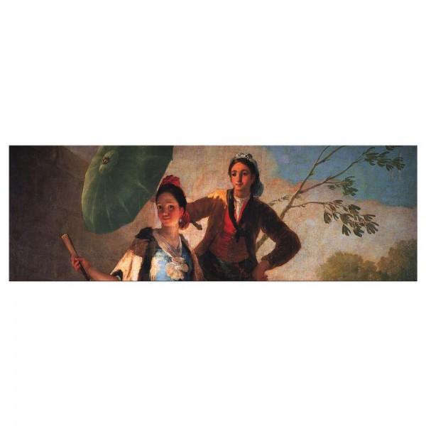 Leinwandbild - Francisco de Goya - Der Sonnenschirm