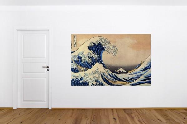 Fototapete Katsushika Hokusai - Alte Meister - Die große Welle vor Kanagawa