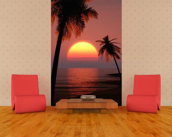 Fototapete - Sonnenuntergang auf Ibiza