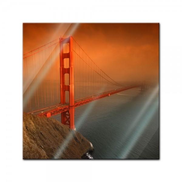 Glasbild - Golden Gate Bridge - San Francisco
