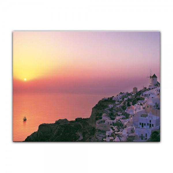Leinwandbild - Mediteran I