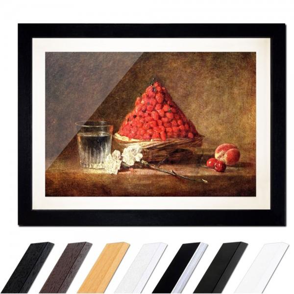 Jean Siméon Chardin - Der Erdbeerkorb
