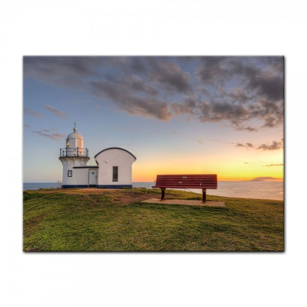 Leinwandbild - Leuchtturm - Port Macquarie