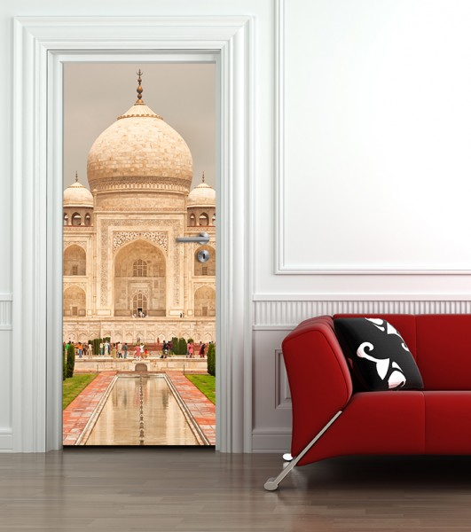 Türaufkleber Taj Mahal - Indien