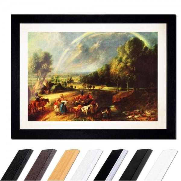 Peter Paul Rubens - Landschaft mit dem Regenbogen