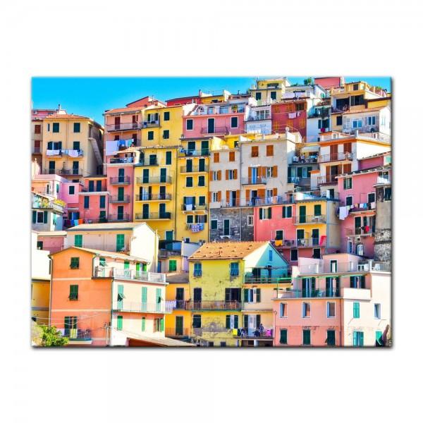 Leinwandbild - Riomaggiore Manarola Italien