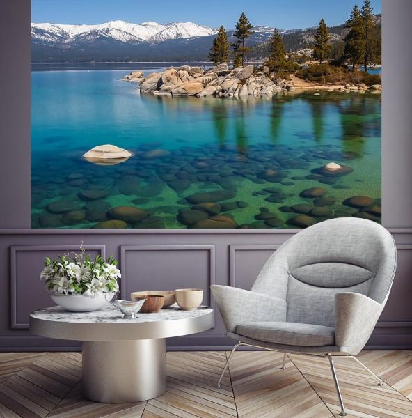 Fototapete - Lake Tahoe in den USA
