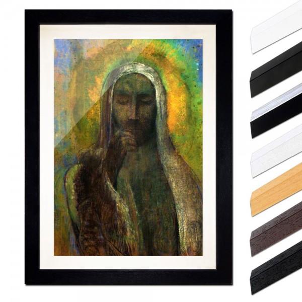 Odilon Redon - Christus in der Stille