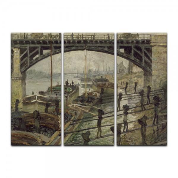 Leinwandbild - Claude Monet - Die Kohlenträger
