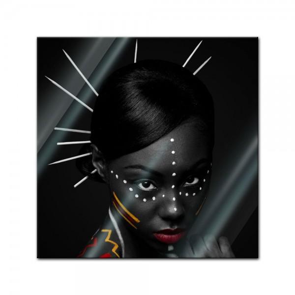 Glasbild - Tribal Woman