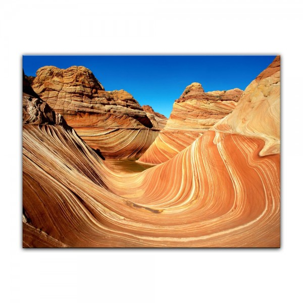 Leinwandbild - Coyote Buttes Nord - The Wave II
