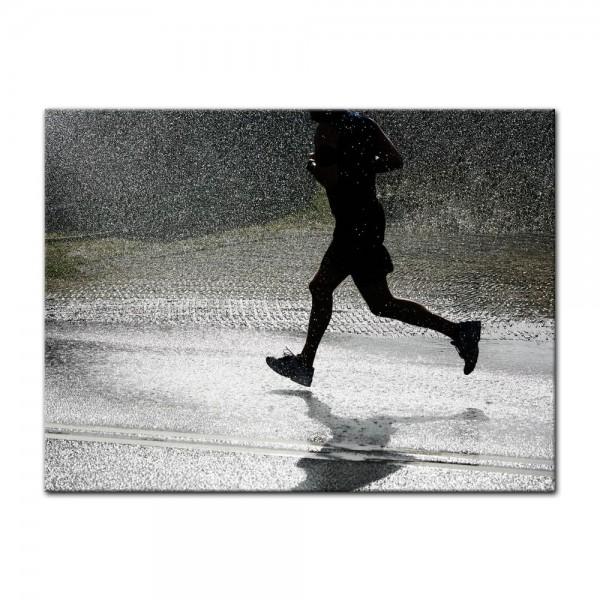 Leinwandbild - Running Retro
