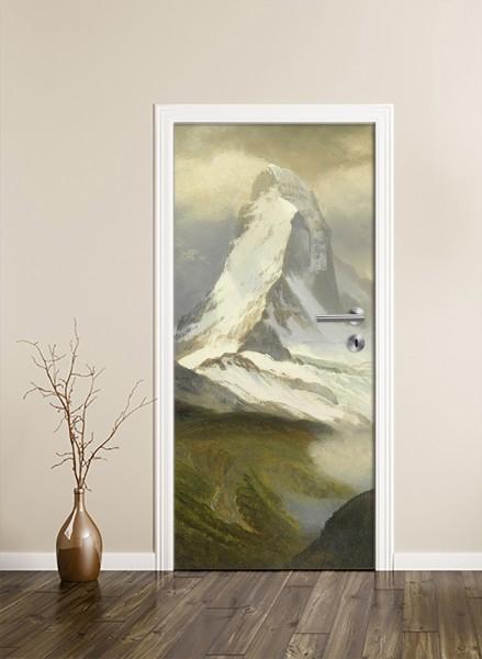 Türaufkleber - Albert Bierstadt - Matterhorn